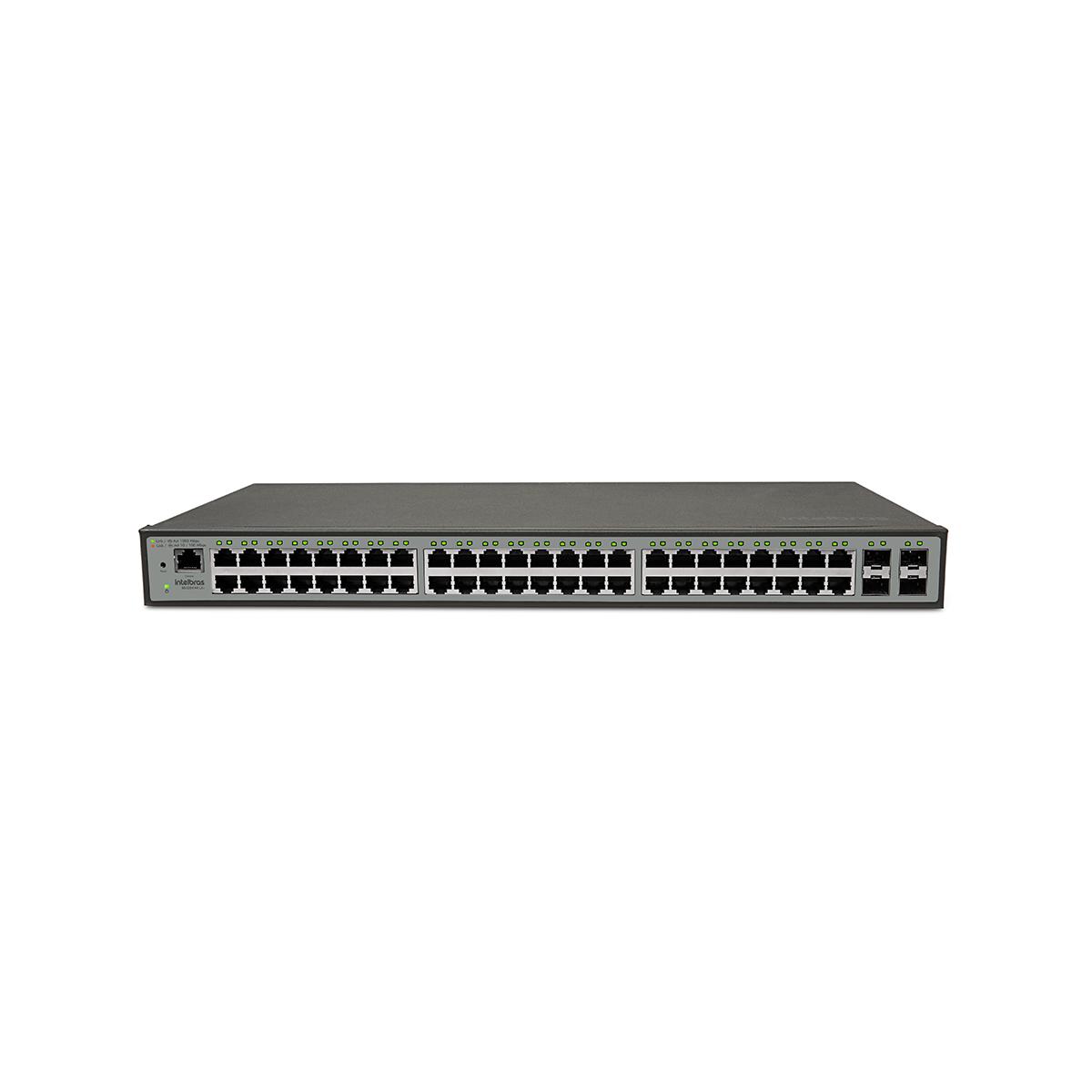 Switch Com 48 Portas Sg5204mrl2+ Intelbras
