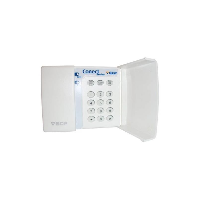 Teclado para Controle de Acesso e Centrais de Alarme - ECP  - CFTV Clube | Brasil