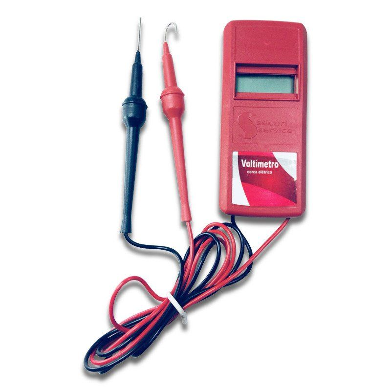 Voltímetro Digital para cerca Elétrica  - CFTV Clube | Brasil