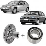 Kit Cubo de roda + Rolamento Gol G2 G3 G4 G5 Dianteiro