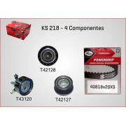 Kit De Correia Dentada Fiat Stilo Chevrolet Meriva 1.8 16V