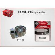 Kit De Correia Dentada Toyota Sw4 Hilux