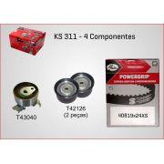 Kit De Correia Dentada Vectra 2.2 16V