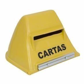 Caixa Carta(correio) Plast.amarela M.correio