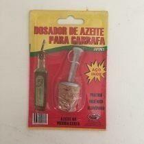 Bico Dosador de Azeite P/ Garrafa AÇO INOX