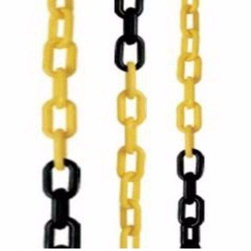 Corrente de PVC ELO 10MM X 25 Metros Amarelo e Preto Prosaf