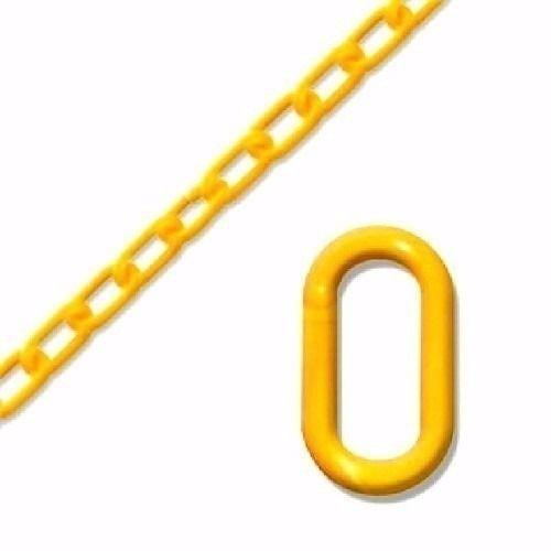 Corrente de PVC ELO 10MM X 25 Metros Amarela
