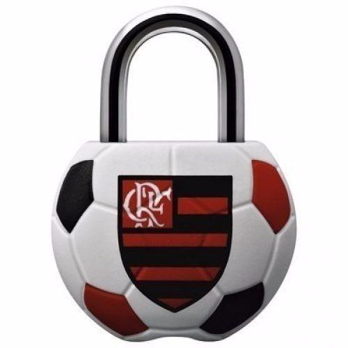 Cadeado Papaiz Clube de Regatas do Flamengo 25MM