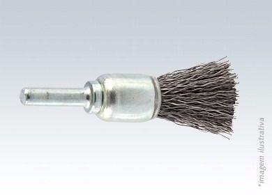 Escova de AÇO Brasfort Haste Pincel 12MM