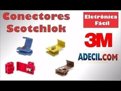 Conector 3M Emenda e Derivação 2,5MM