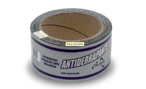 Fita Antiderrapante 50X20M Preta Tecnibra
