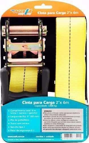 Fita Catraca Carga Waft 2'' 6242