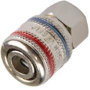 Engate Rápido Compressor AR 1/4 Fêmea - Schweers