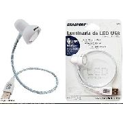 Mini Abajur USB Brasfort 7843