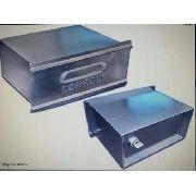Caixa Carta Correio Aluminio 1/2 Tijolo