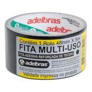 Fita Silver Tape Adelbras 48mmx05m Preta