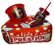 KIT ALMOFADA COM PORTA PIPOCA DO PRESTIGIO