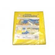 Lona Carreteiro Amarela Encerado Reforcada 6 X 5 Mt