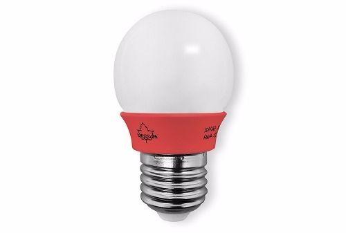 Lâmpada LED Bolinha Vermelha E27 5000K 220V