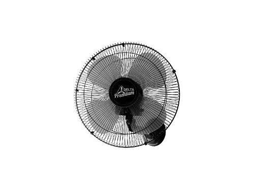 Ventilador De Parede Venti-delta Premium 50cm Preto