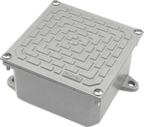 Caixa Ligacao Passagem Aluminio 10x10 Tramontina
