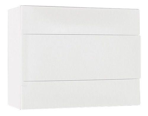 Centrinho Quadro Legrand/Cemar Pvc 12 Disjuntor Din Sobrepor Branco