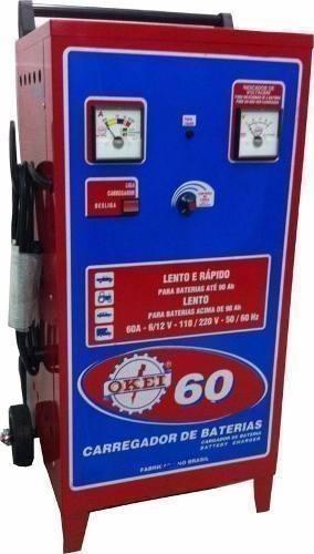 Carregador Bateria Cb60 Bivolt Okei