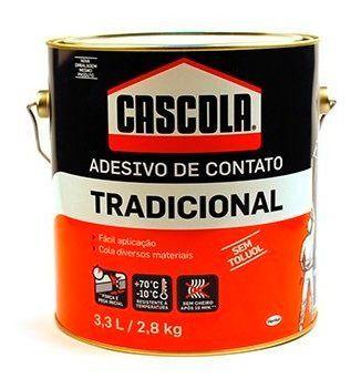 Cola Adesivo De Contato Henkel 2,8kg Cascola