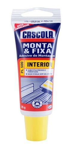 Cola Cascola Monta E Fixa PL500 Adesivo Extra Forte 85g