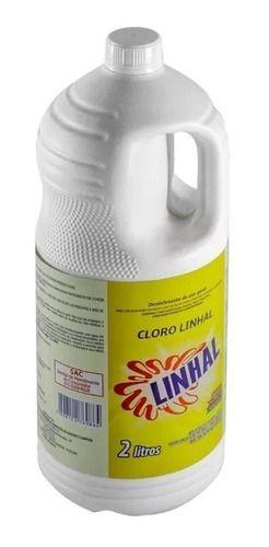Cloro Para Limpeza Linhal 2 Litros