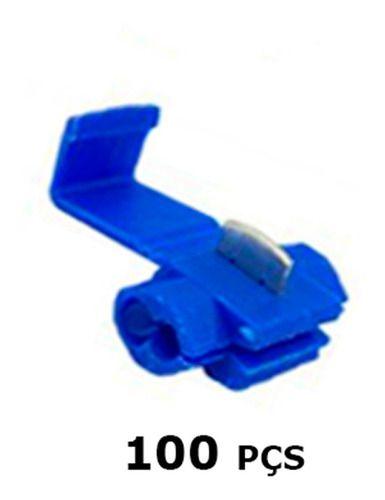 Conector Derivação Emenda Cabos Fios 0,75 A 2,5mm (100 Pç