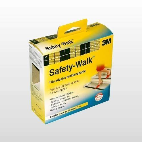 Fita Antiderrapante Transparente 50MM X 5M SAFETY-WALK 3M