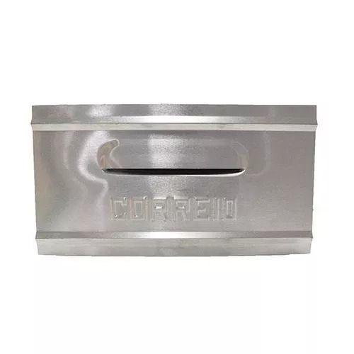 Caixa De Correio De Embutir em Alumínio 1 Tijolo