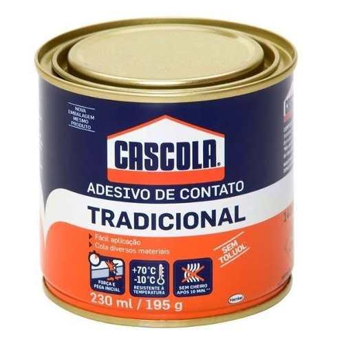 Cola Contato Cascola S/toluol 195g