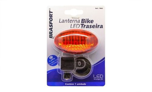 Lanterna Led Bike Traseira Bras7863