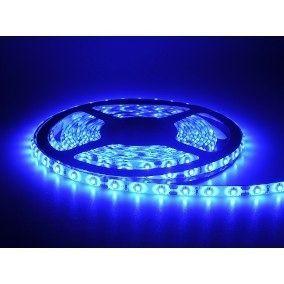 Fita De Led Para Decoração12w Azul 5mts