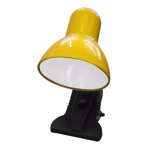Abajour Com Garra Cads Bivolt - Amarelo