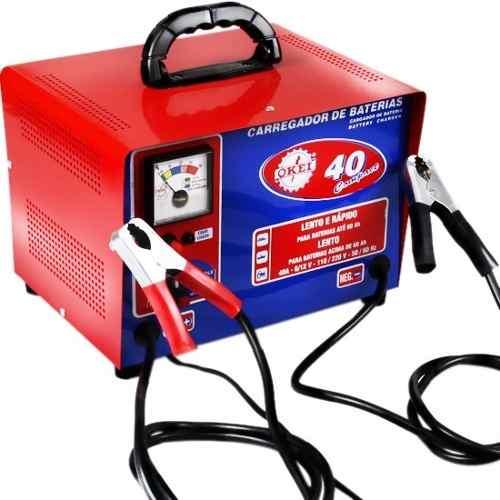 Carregador De Bateria Okei 12v - Cb 40a