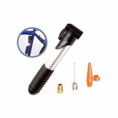 Mini Bomba De Ar Manual 2 Estágios Preta 8891 Brasfort
