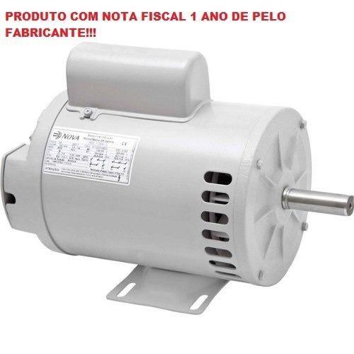 Motor 1/4 Cv Monofásico 4 Polos Aberto