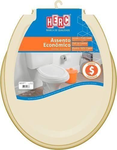 Assento Sanitário HERC Econômco Bege