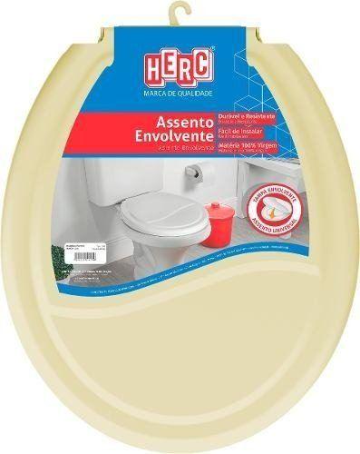 Assento Sanitário HERC Envolvente Bege