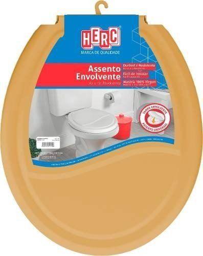 Assento Sanitário HERC Envolvente Caramelo