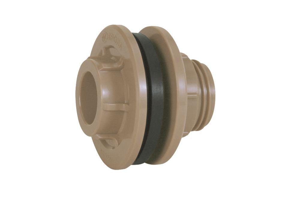 Adaptador De Caixa D Água Flange 20mm X 1/2