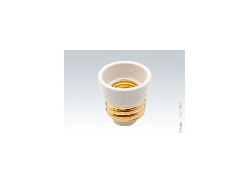 Adaptador Soquete Porcelana E40 p/ E27 Brasfort 8889