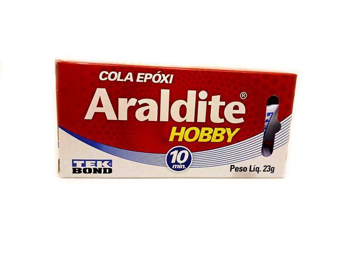 Adesivo Araldite Epoxi HOBBY 10MIN 23G