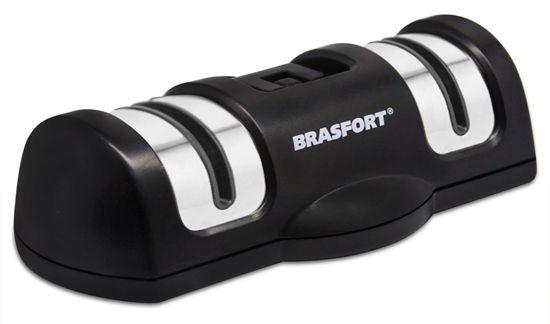 Afiador de Facas Brasfort 2 Em 1 Com Ventosa 7457