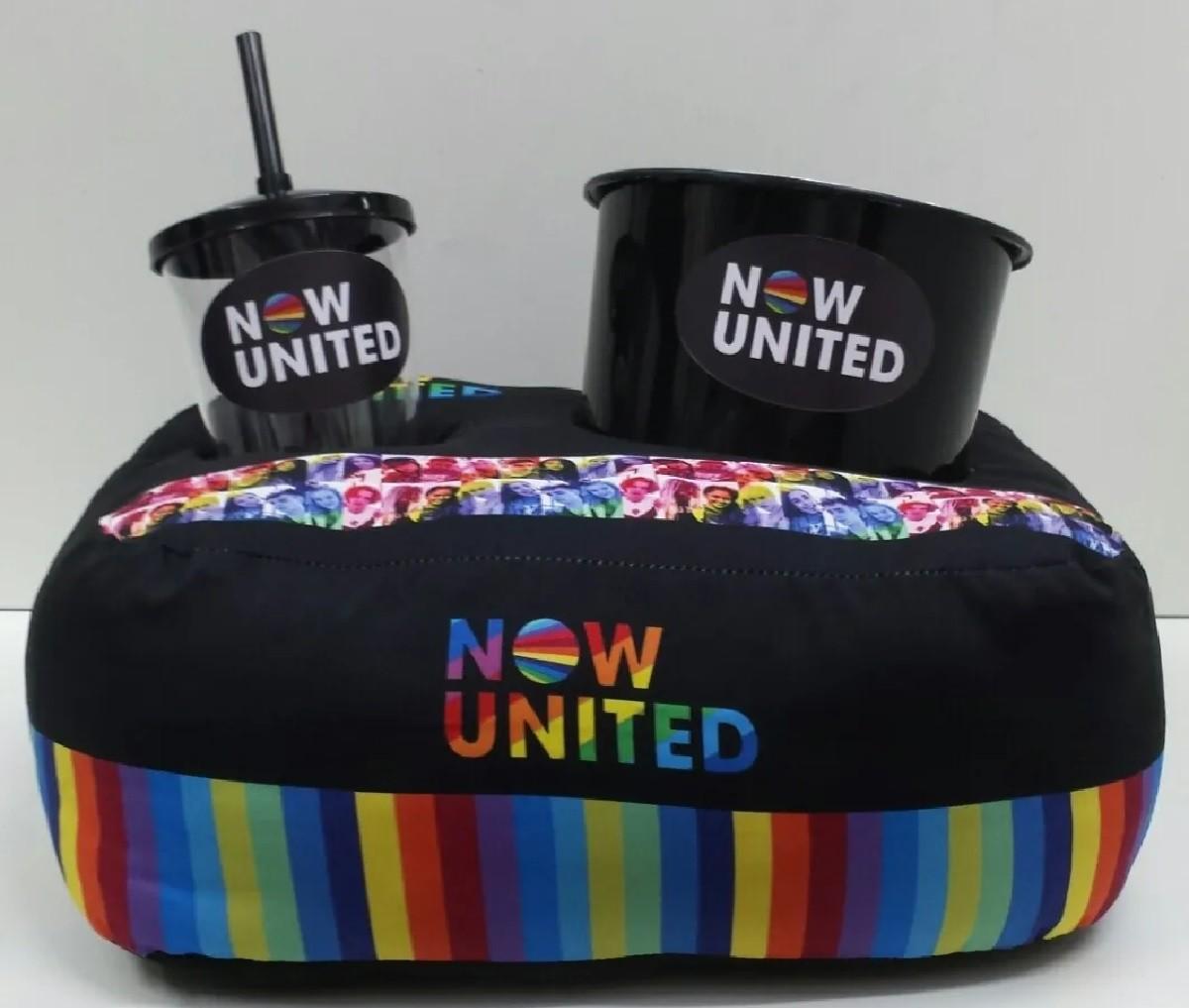 Almofada De Pipocas Now United De Um Copo