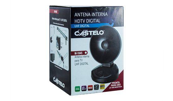 Antena Digital Castelo Interna M-1045