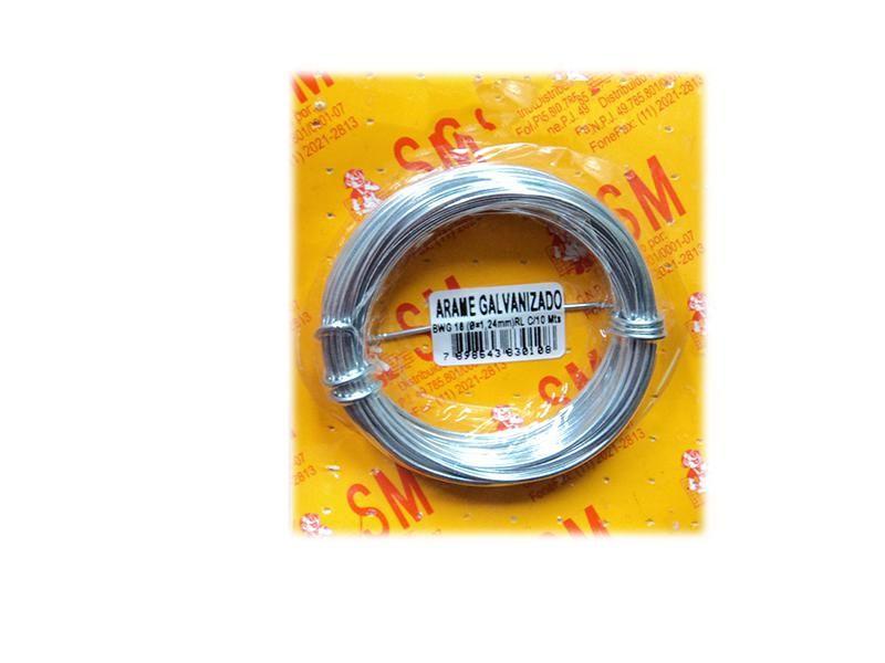 Arame Galvanizado BWG 22 C/10mts CBL